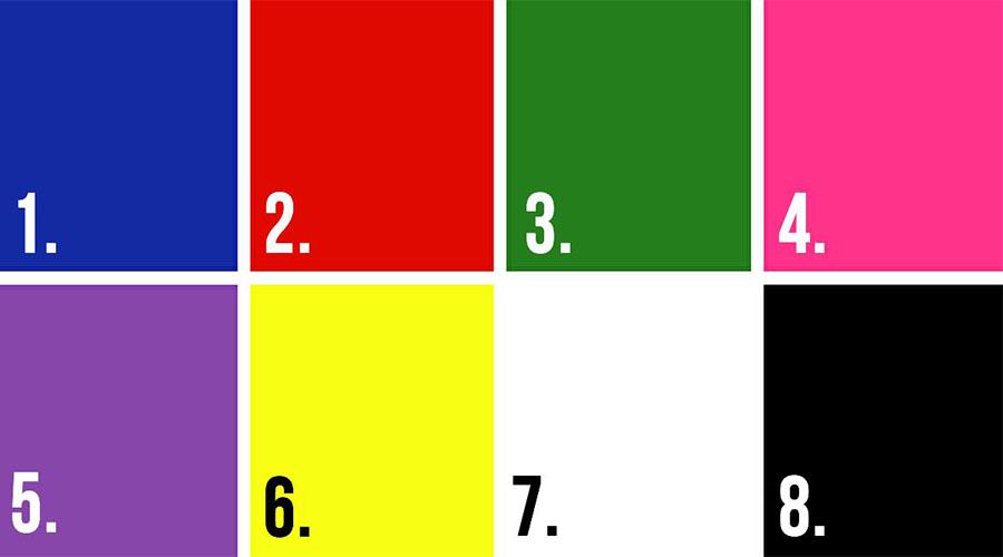Các màu sắc thường sử dụng trong thiết kế bao bì