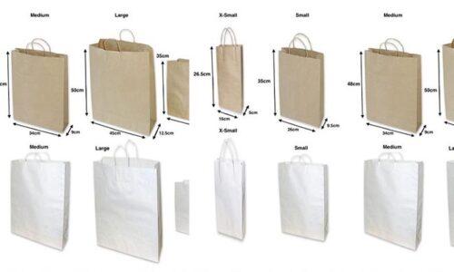 Sử dụng túi giấy